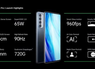 Oppo Reno 4 Pro 5G with Snapdragon 765G