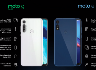 Moto G Fast, Moto E (2020) With 32GB Onboard Storage, Android 10 Launched: Price, Specifications