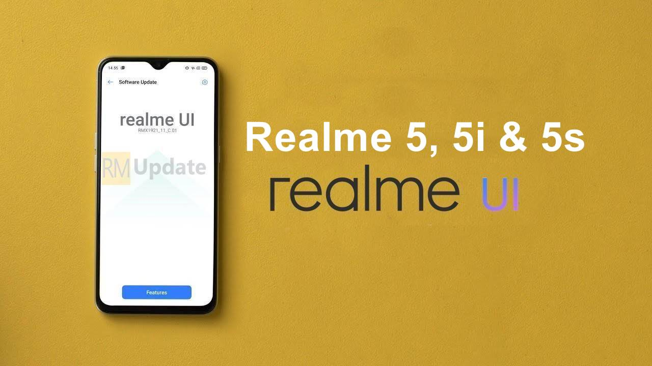 Realme 5, 5i, And 5s Update For Android 10 Arrives In Pakistan