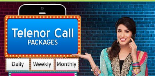 Telenor Call Packages Daily Weekly Monthly