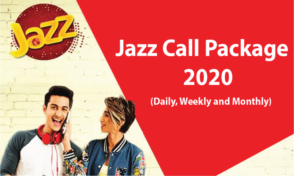 Jazz Call Packages, Daily, Weekly And Monthly Offers