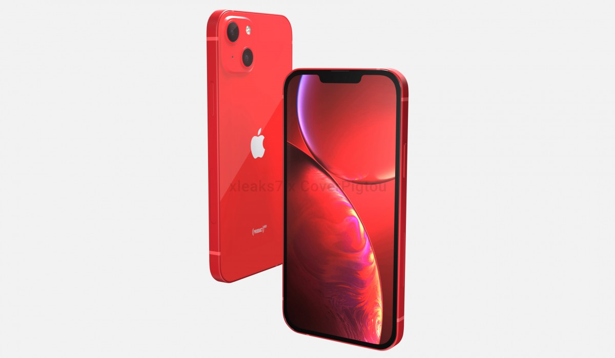 Apple IPhone 13 In Product Red