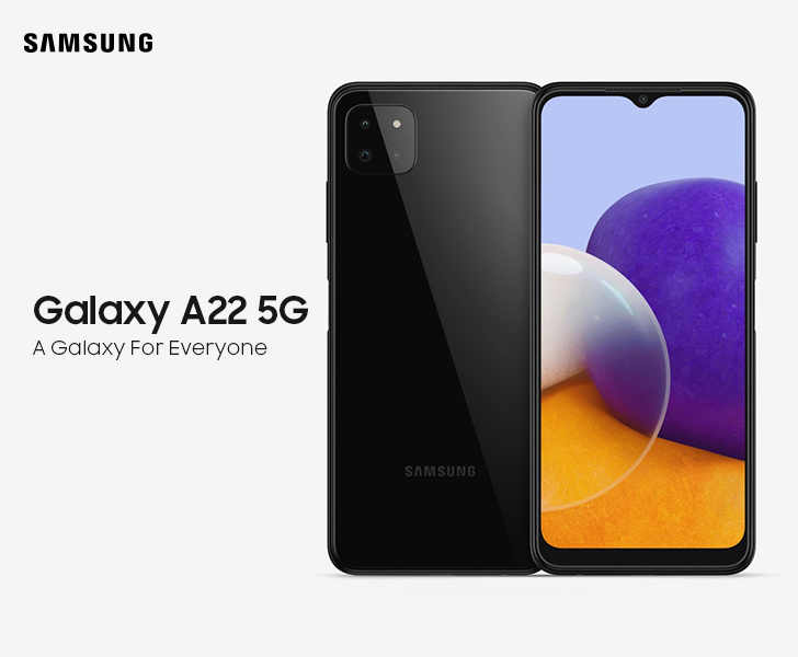 Galaxy A22 5G Goes Official In Pakistan