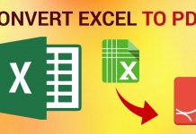 Excel File to PDF