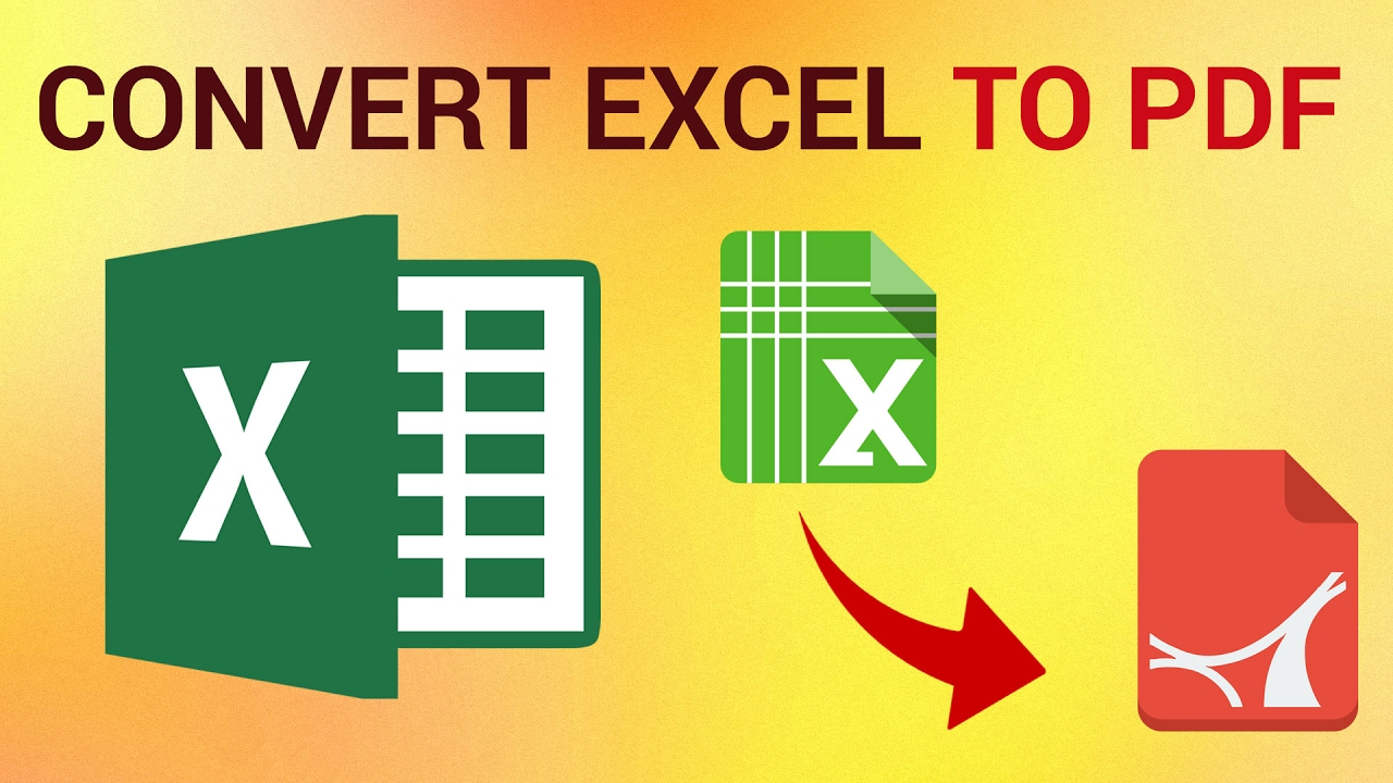 How To Convert Your Excel File To PDF? Try PDFBear!