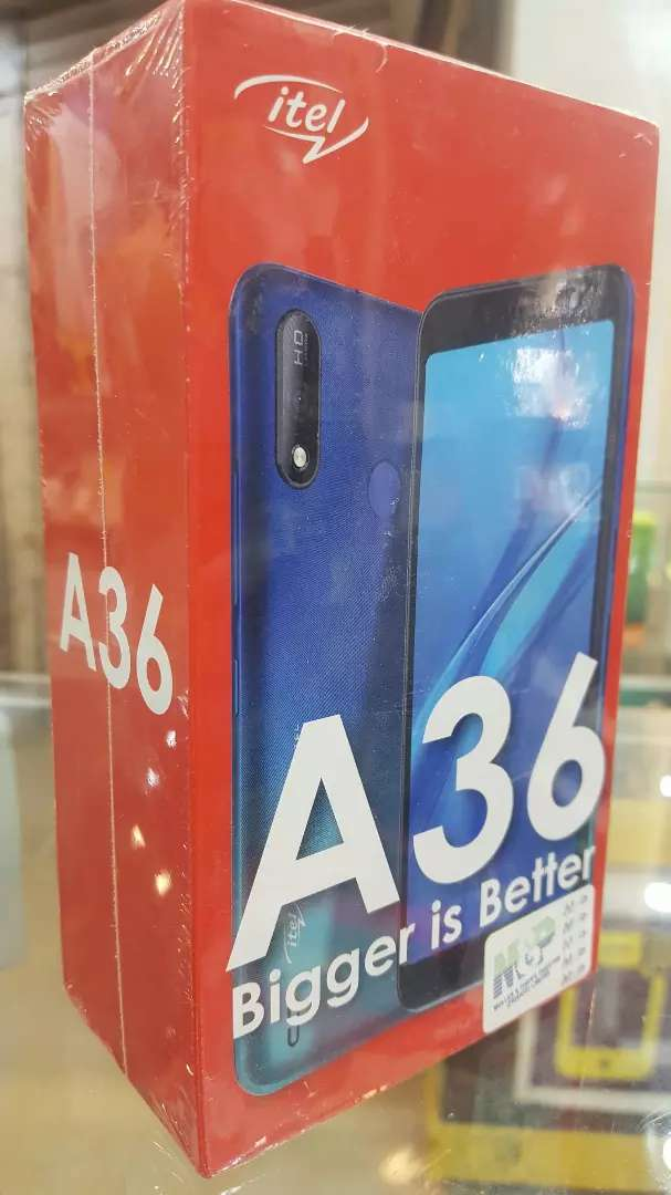 ITEL A36 NEW BOX PACK
